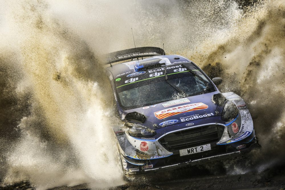 Ogier claims title, Paddon finishes eighth in Britain