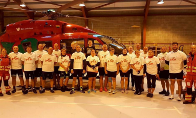 Connah's Quay cyclists raise more than £2000 for Wales Air Ambulance