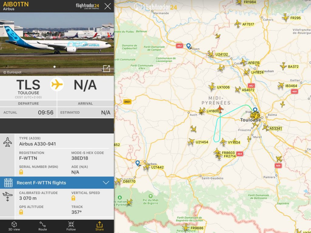 Airbus A330neo Ready for Maiden Flight