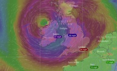Train disruption warning as very windy weather from ex hurricane Ophelia heads to Wales