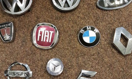 Police in Mold want to reunite these car badges with their owners