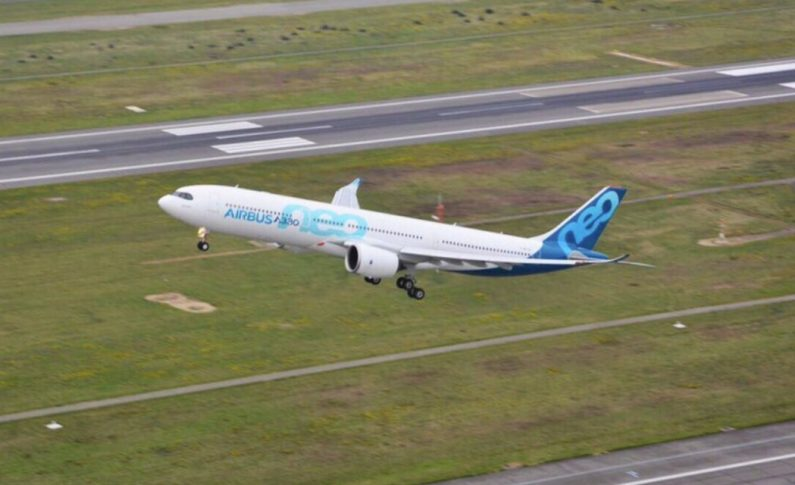 Newest Airbus Jet takes to the skies on maiden flight