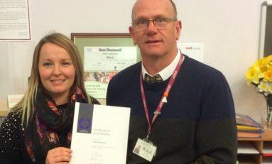 Top 'Investor in People' Award for Flintshire Primary School