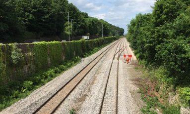 North Wales railway upgrade continues in Rhyl