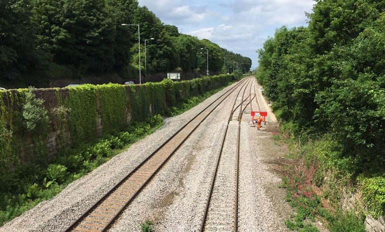 North Wales railway upgrade continues in Rhyl