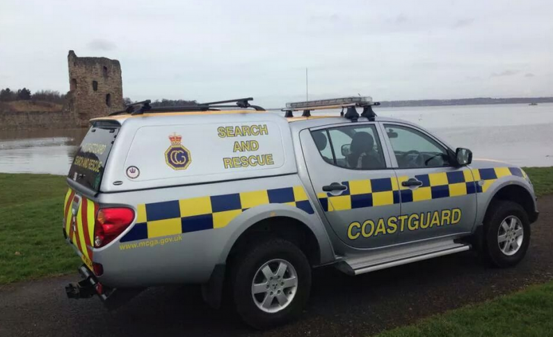 Coastguard rescue after teenager falls 15ft onto rocks in Flint