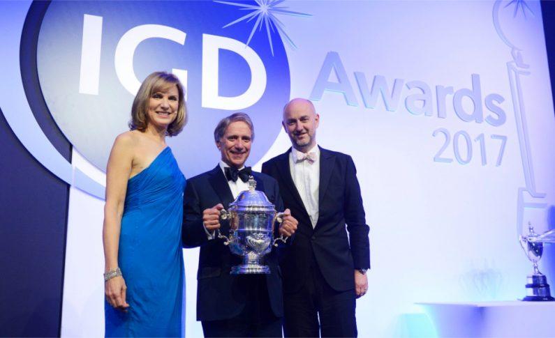 Prestigious Grocer Cup award for Iceland boss Sir Malcolm Walker