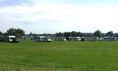 Work begins on making Buckley Common more secure in bid to prevent gypsy and traveller camps