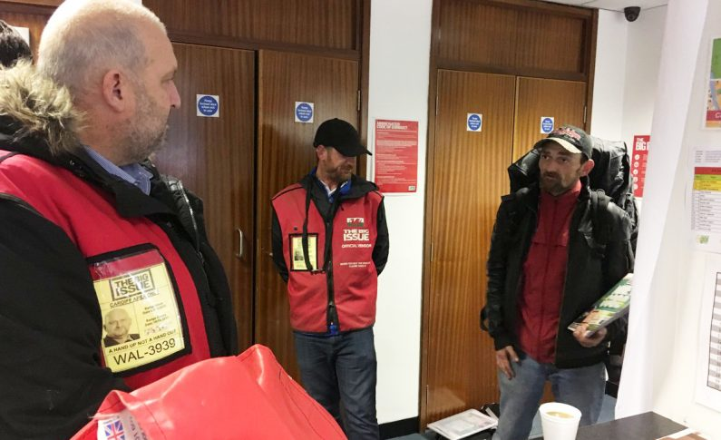 Deeside AM takes to the streets as a Big Issue seller