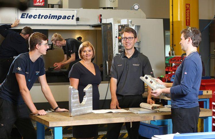 Hawarden based aerospace engineering firm nominated for prestigious apprenticeship awards