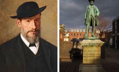 Welsh novelist Daniel Owen born in Mold on 20th October 1836