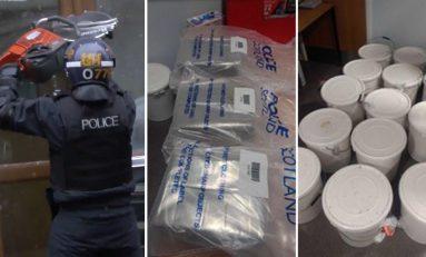 North Wales man arrested following drugs raids by 'Titan' regional organised crime unit