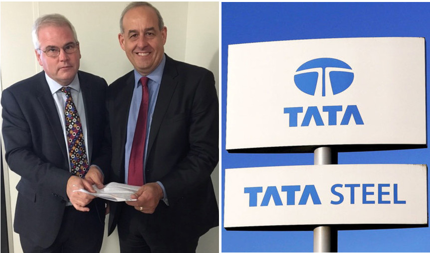 Local MP's raise concerns with UK Government on behalf of Tata Steel Pensioners