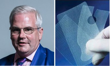 "Vaginal mesh implants ""a national scandal"" says Deeside MP"