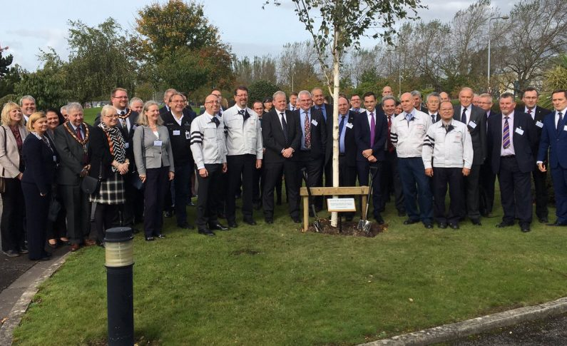 25 years of engine manufacturing in Deeside celebrated by Toyota