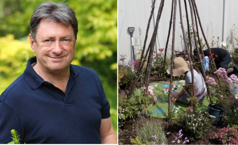 Horticulture students from Coleg Cambria get to work with TV star Alan Titchmarsh