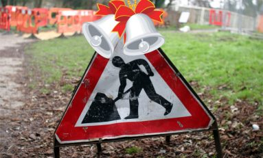 Major roadworks will be suspended in Flintshire during December
