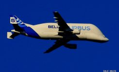 Beluga forced to land at Liverpool Airport after developing technical issues