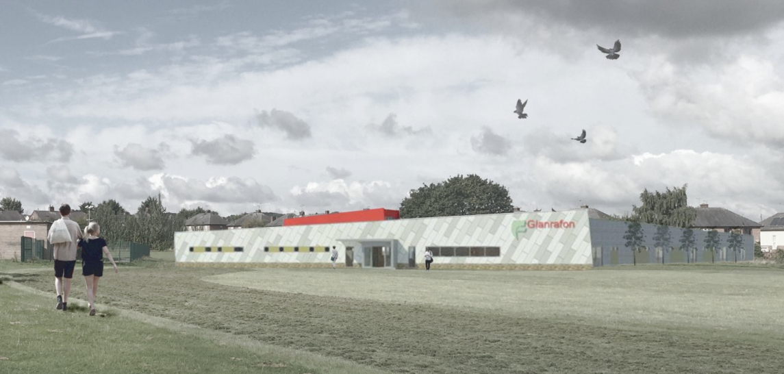 First image of new £4 million Queensferry adult day centre
