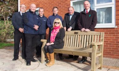 Glan y Morfa Court community garden makeover will have a positive impact