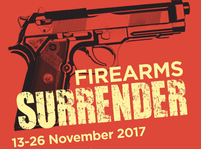 Two Week Firearms Surrenders Starts In East Anglia