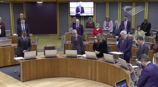 "Assembly members pay tribute to Carl Sargeant ""a genuine man of the people"""