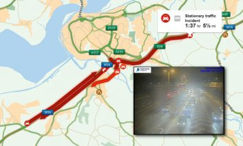 M56 back open following earlier collision and closure