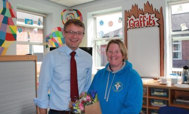 Wrexham mother raises £50,000 towards Wrexham Maelor's Children's Unit in memory of her daughter
