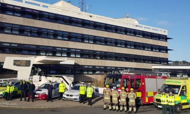 North Wales Emergency services join forces to to support 'Brake Road Safety Week'