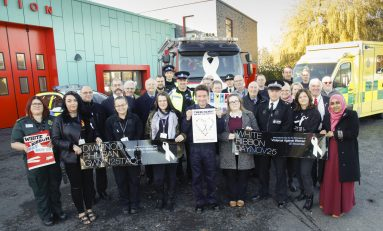 Flintshire organisations join together to support White Ribbon Campaign