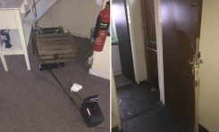 Thieves steal charity box and raffle prizes in 'callous deed'