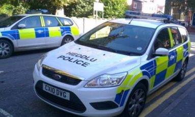 Police raid four Deeside properties today as crackdown on drug dealers continues.