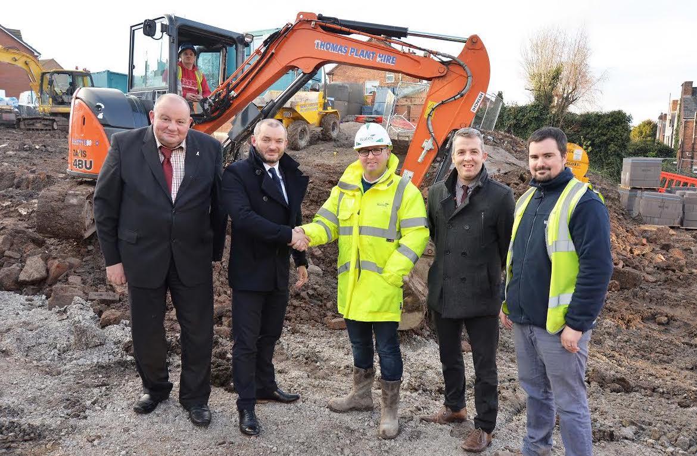 Work begins on new Connah's Quay council housing development
