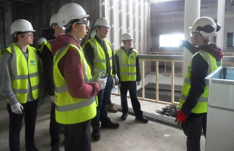 New Construction Academy launched by Coleg Cambria