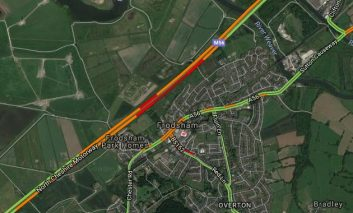 Police ask drivers to avoid the M56 near Frodsham due to a multi vehicle collision