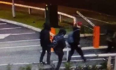 Police appeal for help to identify vandals who trashed car park barriers in Ewloe