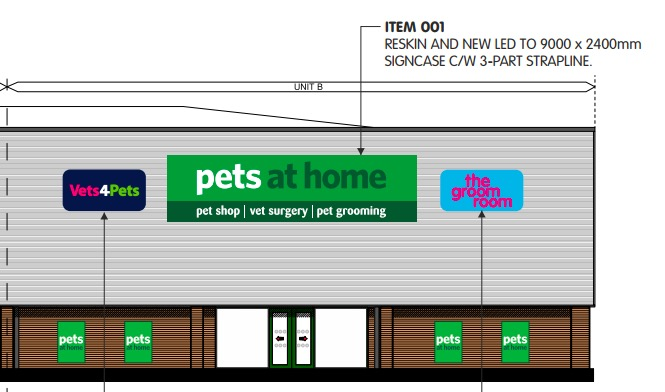 Pets At Home looks to expand Deeside store with new vets and grooming room