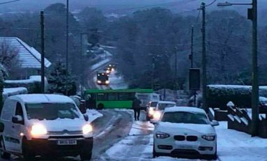 Warning of snow showers in Flintshire later today