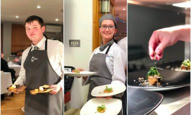 Coleg Cambria Collaborate with Michelin Star restaurant Ynyshir