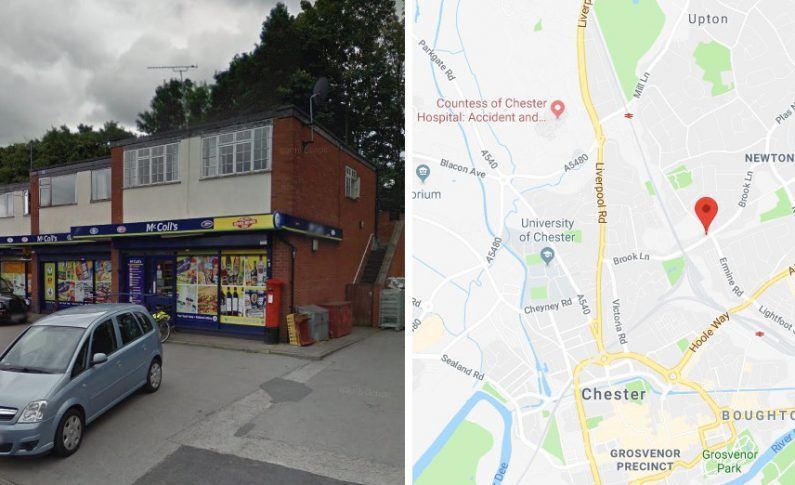 Detectives in Chester appeal for information following an armed robbery