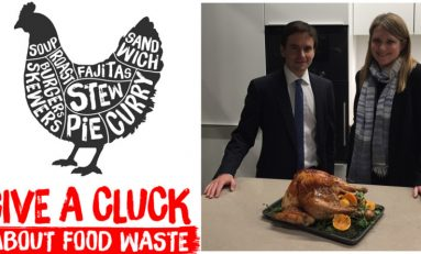 Tackling food waste on the agenda for the Environment Minister on visit to Deeside based Iceland