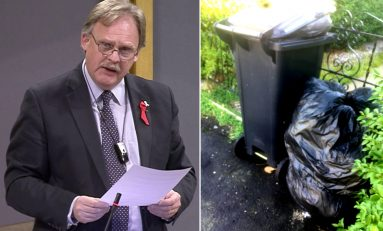 Concerns over Flintshire council's 'side waste' policy raised in Assembly