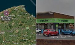 Police appealing for witnesses following a burglary at a Prestatyn CO-OP.