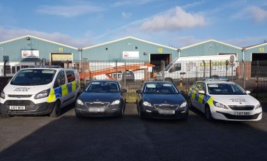 'Ring of Steel' - Police operation in Saltney yesterday targeted vehicles coming in and out of the town