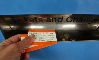 Largest train fare hike in five years kicks in today