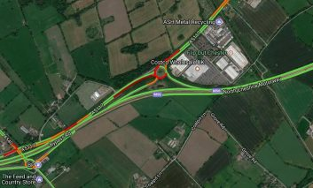 A5117 near Costco reopens following earlier multi-vehicle accident