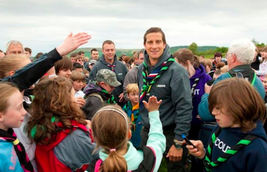 Bear Grylls backing for Flintshire Scouts as petition passes 7500 signature mark