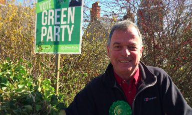 Duncan Rees announces he will stand as prospective Green Party candidate in Alyn and Deeside by-election