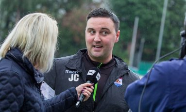 Connah's Quay Nomads Director of Football Jay Catton sigs new three year deal