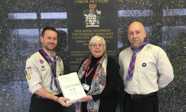 Flintshire Scouts win backing from councillors over controversial rate hike after 10,500 signature petition is handed in